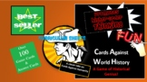 (AP World) and World History Cards Against History-A Game of Historical Genius!