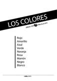 Basic Colours Flashcards