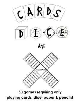 Cards, Dice & Multiplication - 50 Games with Cards & Dice