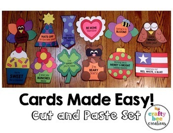 Cards Made Easy! Cut and Paste Set