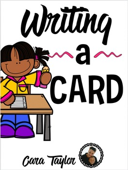 Cards Writing Station