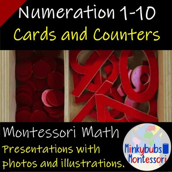 Cards and Counters Montessori Math Lesson Plan Numeration BC Curriculum
