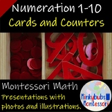 Cards and Counters Montessori Math Lesson Plan Numeration