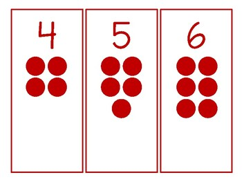 Cards and Counters Montessori Math Worksheet