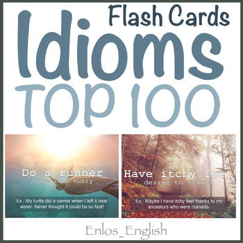 Cards with idioms esl by enlosenglish teachers pay teachers cards with idioms esl reheart Gallery