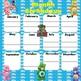 Care Bears Month Birthdays Poster 17x17 English & Spanish version