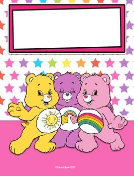 Care Bears - Binder Covers