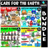 Care For The Earth Clip Art Big Bundle {Educlips Clipart}
