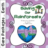 Care Packages for Earth, Saving Our Rainforests