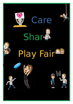 Care Share Play Fair Poster