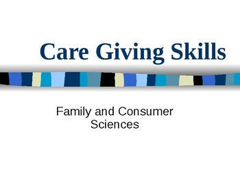 Care-giving Skills