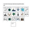 Careeer Interest Survey modified for Special Education students or autism