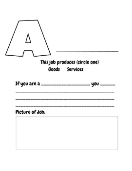 Career ABC Book