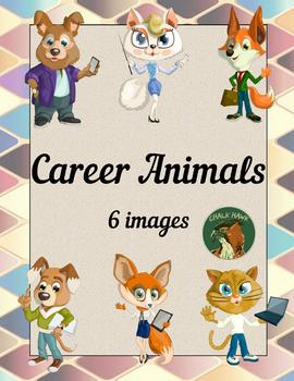 Career Animals Clip Art