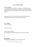 Career Assessment Handout (CAH)