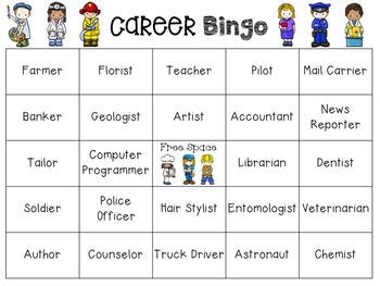Career Bingo