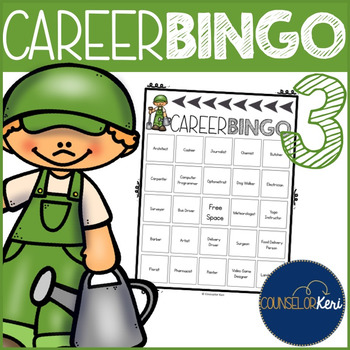 Career Bingo 3 - 24 More Co... by Counselor Keri | Teachers Pay ...