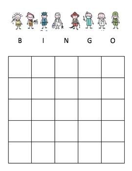 Career Bingo for Elementary