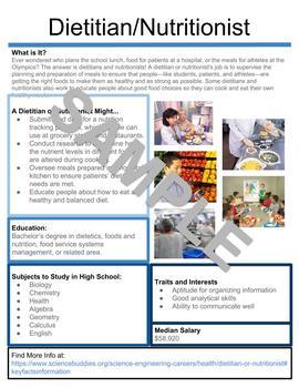 career brochure template by jennie armstrong teachers pay teachers