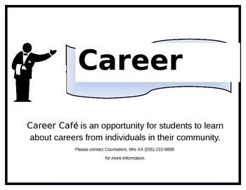 Career Cafe Flyer