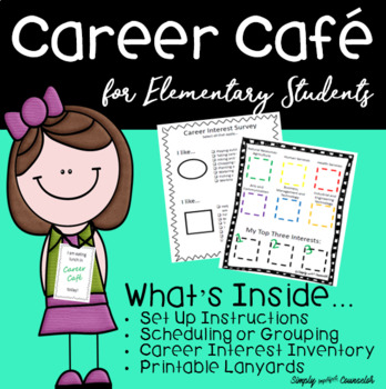 Career Cafe Packet With Career Interest Survey By Simply Imperfect Counselor