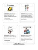 Career Cards - Mean, median, mode