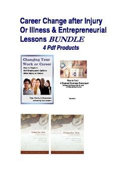 Entrepreneurial Career Change After Disability: Lessons Bundle