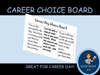 Career Choice Board