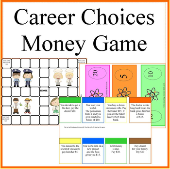 Career Choices Money Game