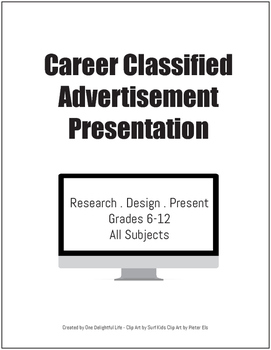 Career Classified Advertisement Presentation