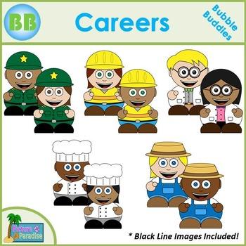 Career Clipart: Bubble Buddies