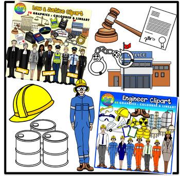 Career Clipart Bundle (Community Helpers)
