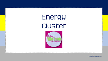 Career Cluster:  Energy