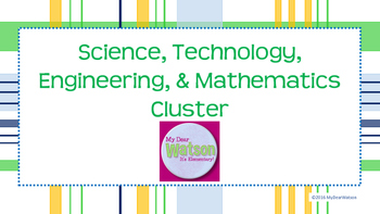 Career Cluster:  Science, Technology, Engineering, & Mathematics (STEM)