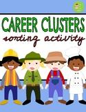 Career Cluster Sorting Activity Game l Career Day l Career
