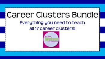 Career Clusters Unit Bundle