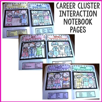 Career Clusters/Community Helper Classroom Guidance Lesson Bundle