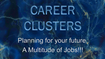 Career Clusters 19 Slide PowerPoint Guidance Lesson w video links