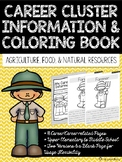 Career Coloring and Information Book: Agriculture, Food, &