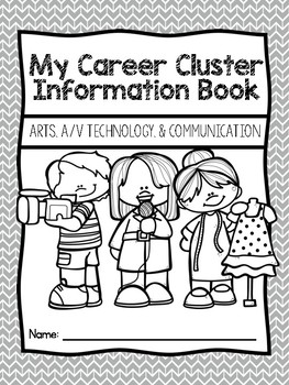 Career Coloring and Information Book: Arts, A/V Technology, and Communications