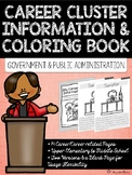 Career Coloring and Information Book: Government and Publi