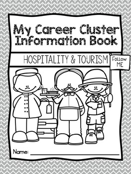 Career Coloring and Information Book: Hospitality and Tourism