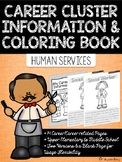 Career Coloring and Information Book: Human Services