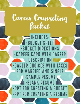 Career Counseling Packet (ALL INCLUSIVE!)