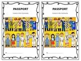 Career Day Blank Passport Book