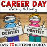 Career Day Writing and Craft Activity | Community helpers Writing Craftivity