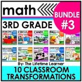 3rd Grade Classroom Transformations - Bundle #3