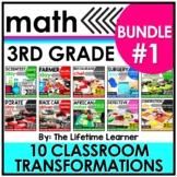 Classroom Transformations - 3rd Grade - Bundle #1 - Career Day Math Activities