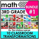 Career Day Math Activities - 3rd Grade Math - Bundle #1
