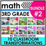 Career Day Math Activities - 3rd Grade Math - Bundle #2